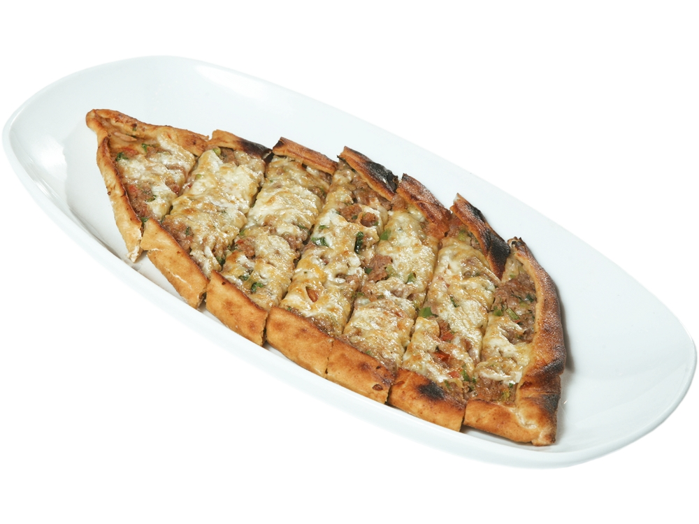 Pide with mince and yellow cheese - 350 gr. | 9.40 lv.