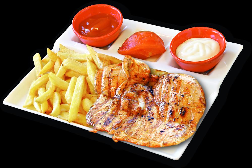 Children's chicken menu - 250 gr | 8,90 lv.